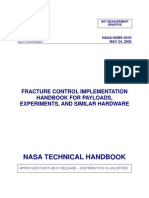 NASA_HDBK_5010_Fracture Control Implementation Handbook for Payloads, Experiments, And Similar Hardware