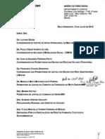 Resposta à Recomendação Conjunta nº 6 - MPF/DPMG/MPMG