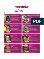 Atletas Clasificados de Venezuela a Los Juegos Olimpicos de Londres 2012