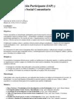 Diplomado Iap y Empoderamiento Social Comunitario