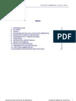 Documento Base Politica Ambiental Local Barranco