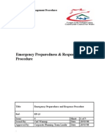 EP-23 Emergency Preparedness & Response Procedure v4-Eng