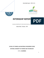 Internship Report HPFL 2012