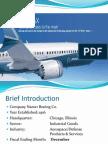 Boeing financial analysis presentation