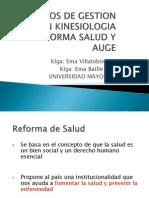Reforma de Salud y GES