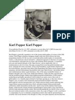 Karl Popper Karl Popper