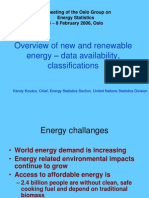 Overview of New and Renewable Energy