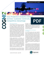 How Predictive Analytics Elevate Airlines' Customer Centricity and Competitive Advantage