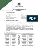 IEP PABLO PICASSO 1° BIMESTRE - PSICOLOGIA