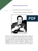 Polémica y crítica Rafael Gutiérrez Girardot