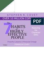 7 Habits of High E P