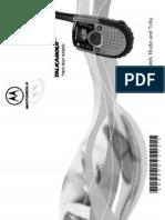 PMR Motorola T280 User Manual