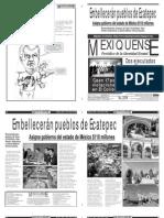 Versión impresa del periódico El mexiquense 19 julio 2012