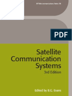 Satellite Communication Systems IEE Telecommunications Series I E E Telecommunications Series (1)