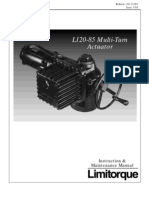 L120-Series 85 Instruction & Maintenance 120-11085