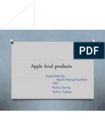 Apple Food Products