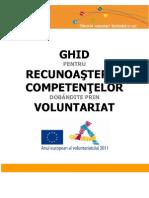 Ghid Pt Recunoasterea Competentelor Dobandite Prin Voluntariat