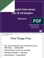 Successful Interviews May 2012 Vs