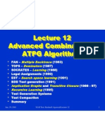 advanced  combinational atpg