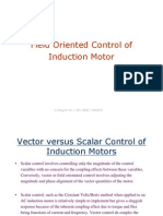 Unit 4-Field Oriented Control of Induction Motor
