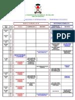 Calendario 2012-2013 19 de Julio