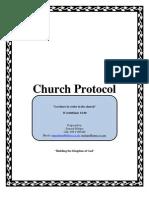 Church Protocol