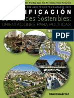 Planificación de Ciudades Sostenibles- Orientaciones para Políticas (Planning Sustainable cities)