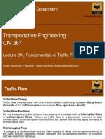 2A_Fundamentals of Traffic Flow
