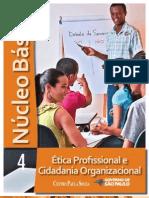 NÚCLEO BÁSICO VOL.4 - ÉTICA PROFISSIONAL E CIDADANIA ORGANIZACIONAL