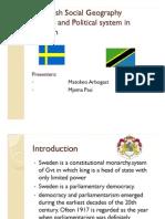 Swedish Geography