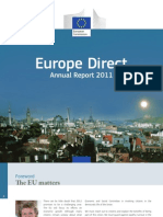 Europe Direct annual report 2011- extract