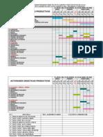 Cronograma de Actividades Tecnicos Agropecuario II Lapso 2008-2009