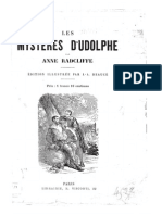Les Mystères d'Udolphe - Ann Radcliffe - 1794 (scan de la version illustrée par J.-A. Beaucé)