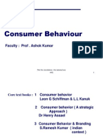 Consumer Behaviour Schiffman 9th edition