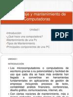 Principales componentes de la Pc