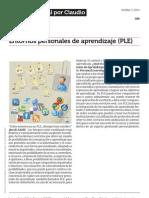 Entornos Personales de Aprendizaje Ple