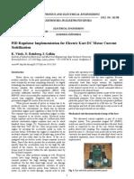 02__ISSN_1392-1215_PID Regulator Implementation for Electric Kart DC Motor Current Stabilization