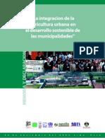 """""""La integracion de la agricultura urbana en el desarrollo sostenible de las municipalidades"""""""