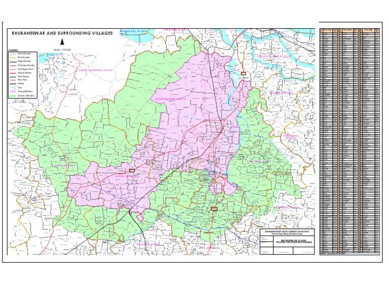 New BDPA Map 556 Villages