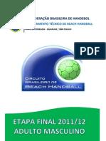 Relatório Final Brasileiro Masculino 2011-12
