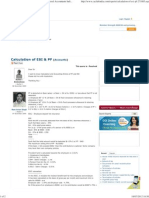 Calculation of ESI & PF - Accounts Experts - Chartered Accountants India,Taxpayers, CA India, CWA ,ICAI, Company Secretary ,CS, Cost Accountants, MBA, Finance Professionals