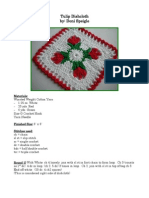 Tulip Dishcloth