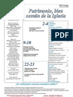 Semanario Católico Alfa y Omega. nº 795. 19 Julio 2012