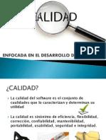 1.5 CALIDAD Enfocada en El Desarrollo Del Software (Fernando Paz Valdez)