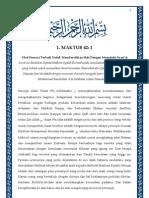Maktubat Imam Rabbani - Surat 42 Jilid 1