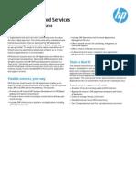 HP Enterprise Cloud Services for SAP Applications