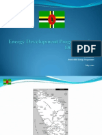 Michael Fadelle, Energy Development Programme for DOMINICA, 5-2012