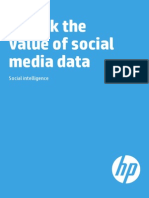 Unlock the Value of Social Media Data