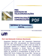 Uff - Sistemas de Transmisso Digital - 2011