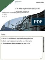 RJUE - Lei 60 - Apontamentos - DGAL